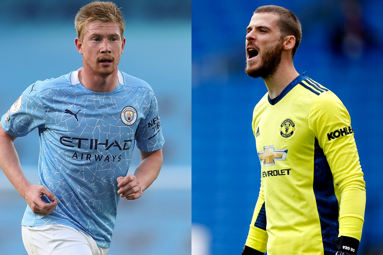 FIFA 21 ratings revealed for the full United and City squads